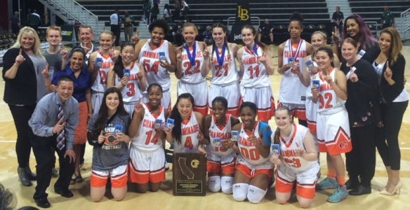 Girls Basketball_ CIF Southern Champs 2016 03-19
