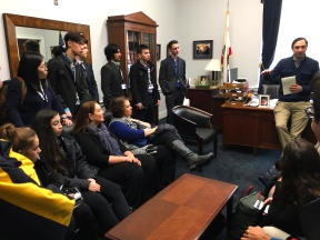 Meeting at Congressman Brad Sherman's office