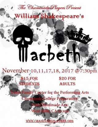 Macbeth final flyer